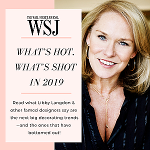 WSJ: What's Hot, What's Shot in 2019