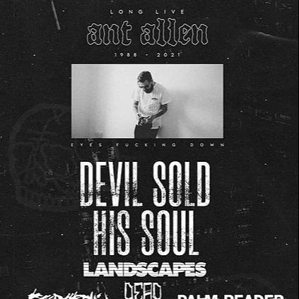 Devil Sold His Soul Sheffield - Long Live Ant Allen - 25/09/21 Link Thumbnail | Linktree