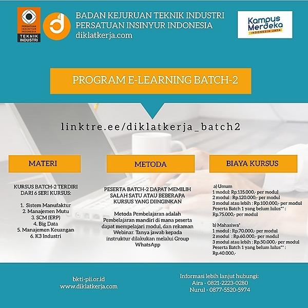 Program E-learning Batch-2