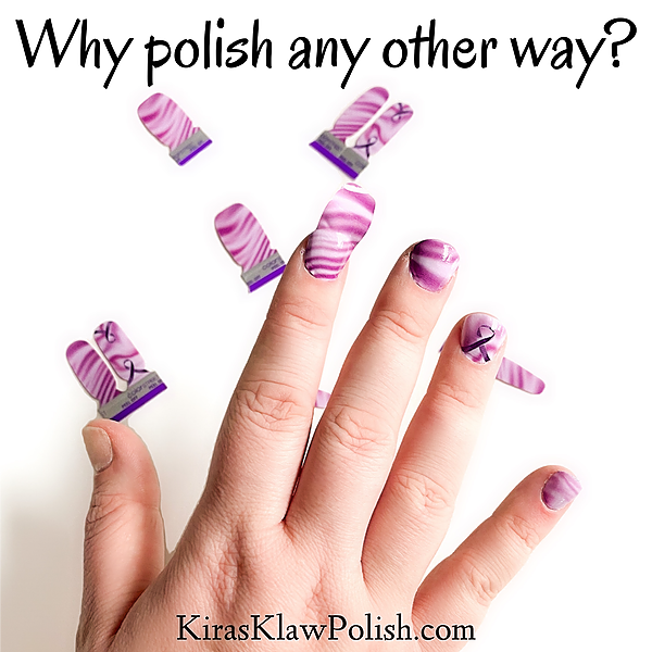 Kira's Klaw Polish Watch an Application Video! Link Thumbnail | Linktree