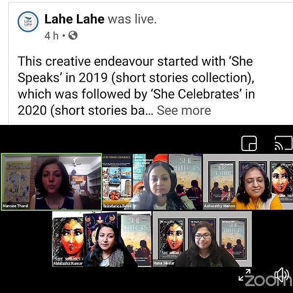 @BCPublishers She REFLECTS (Lahe Lahe Talk,Bangalore) Link Thumbnail | Linktree