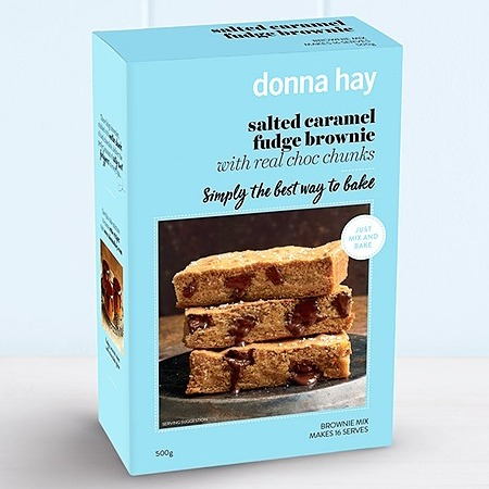 @donna.hay SPECIAL OFFER - salted caramel brownie 4 pack Link Thumbnail   Linktree