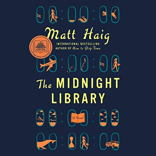 Shop Matt Haig's books US: Buy The Midnight Library audiobook on Audible Link Thumbnail | Linktree