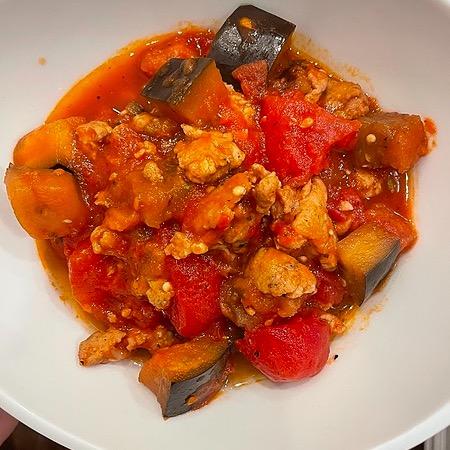 @amysmealdeal Eggplant and Tomato Sauce - @skinnytaste Link Thumbnail | Linktree