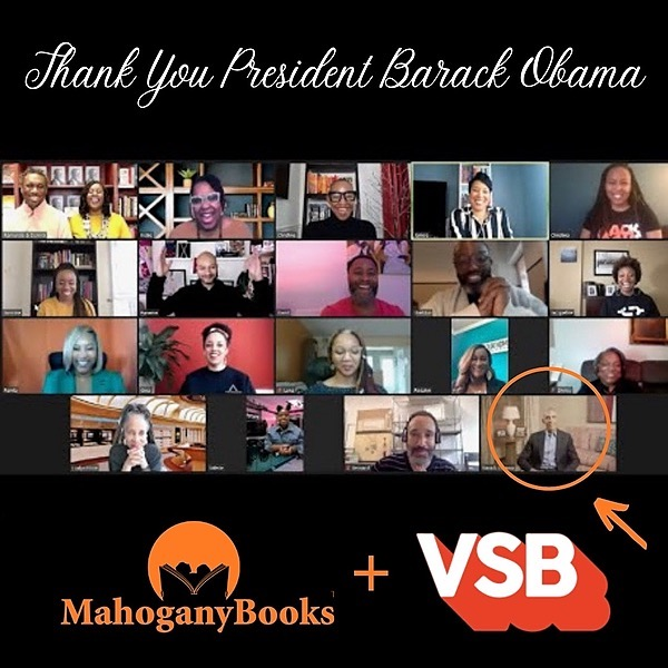 Pres. Barack Obama & Our Bookclub