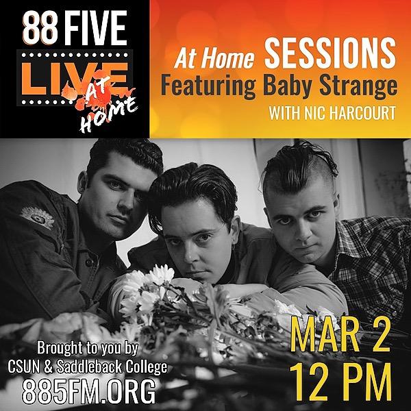 @BabyStrange KCSN Live at Home Session w/ Nic Harcourt Link Thumbnail   Linktree