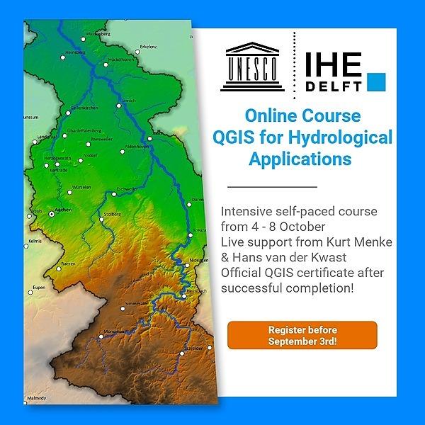 Hans van der Kwast Online course QGIS for Hydrological Applications Link Thumbnail | Linktree