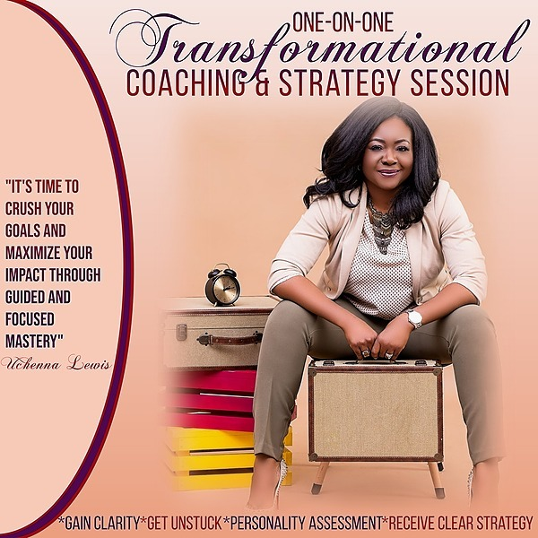 One-on-One Transformational Coaching & Strategy Session