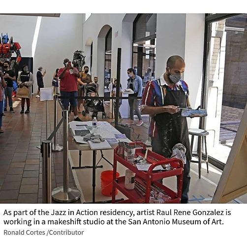 @ArtistRaulReneGonzalez Express News: San Antonio Museum of Art Artist Residency Link Thumbnail   Linktree