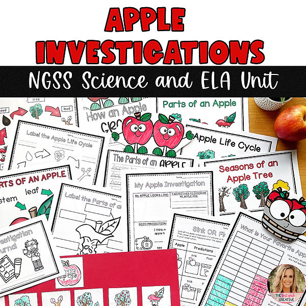 @thefirstgradecreative Apple Investigations NGSS Science and ELA Unit Link Thumbnail   Linktree