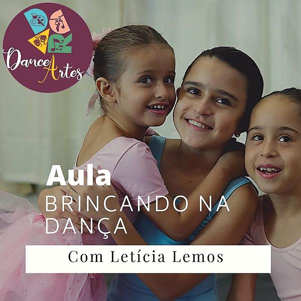 Aula: Brincando na dança com Letícia Lemos