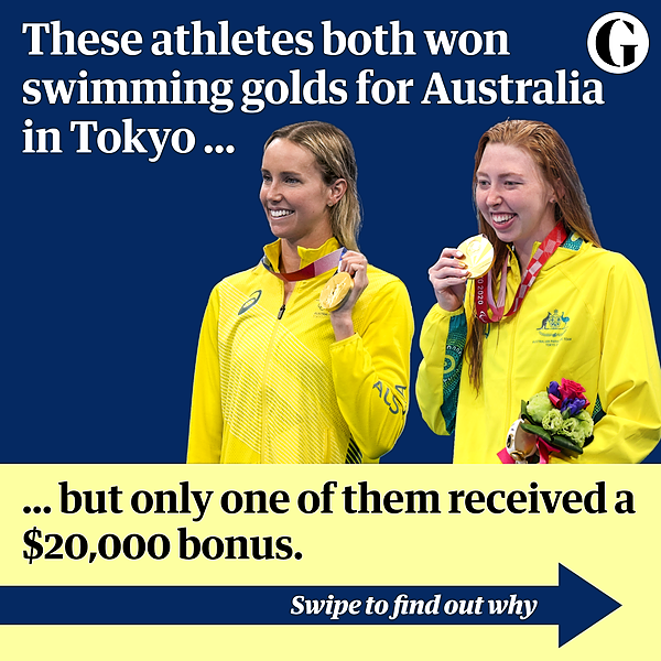 @guardian Australia's Olympians got a $20,000 bonus for a gold medal, our Paralympians get nothing Link Thumbnail   Linktree