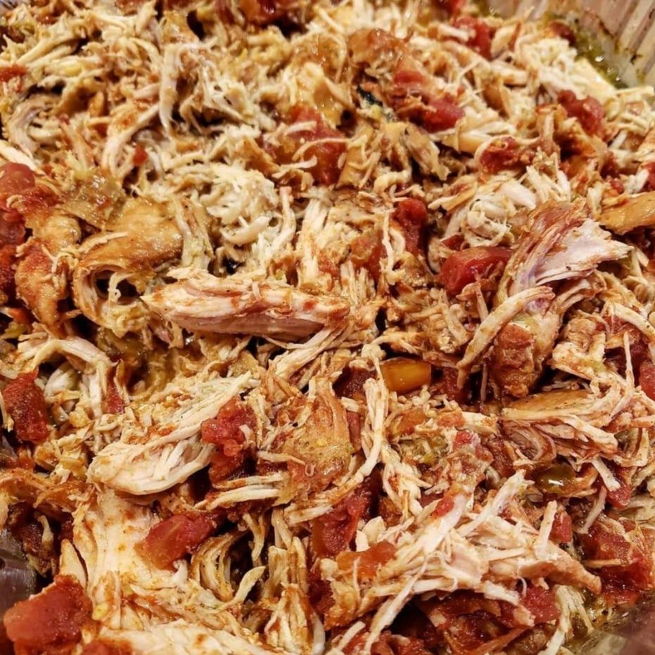 Cayts Shredded Spanish Chicken