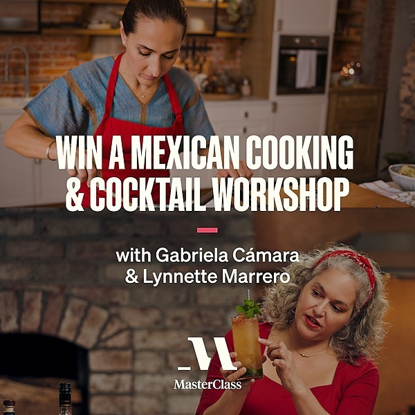 Now Streaming on MasterClass  Win a Mexican Cooking & Cocktail Workshop Link Thumbnail | Linktree