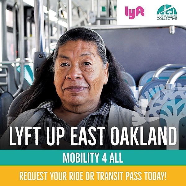 Request a Lyft Ride or Transit Pass