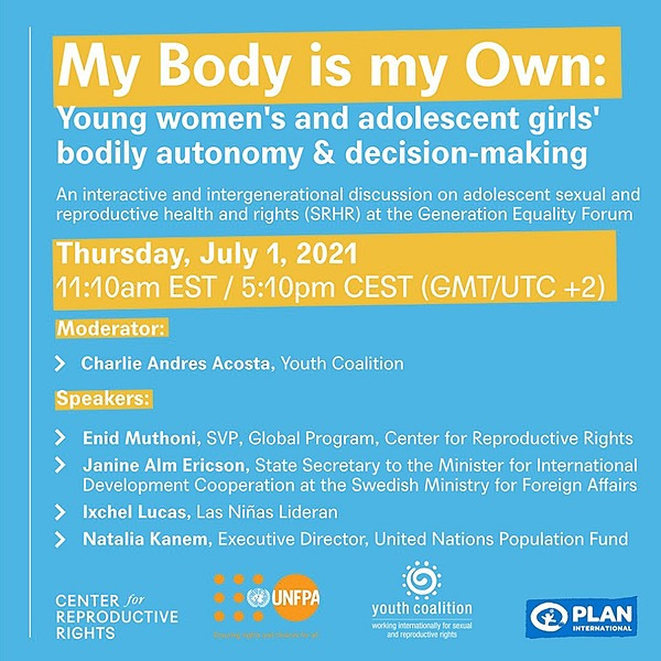 Girls Learn International My Body is My Own Event Link Thumbnail | Linktree