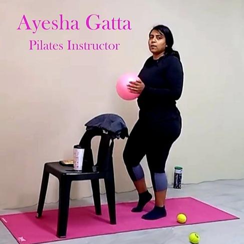 @Onlinestudiofit Ayesha Gatta Pilates Instructor Link Thumbnail | Linktree