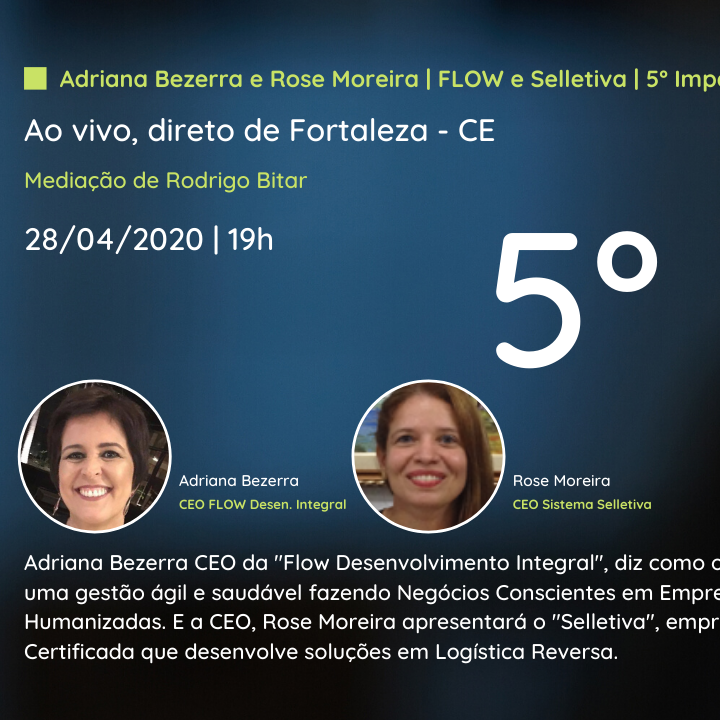 5º Webinar | Flow e Selletiva