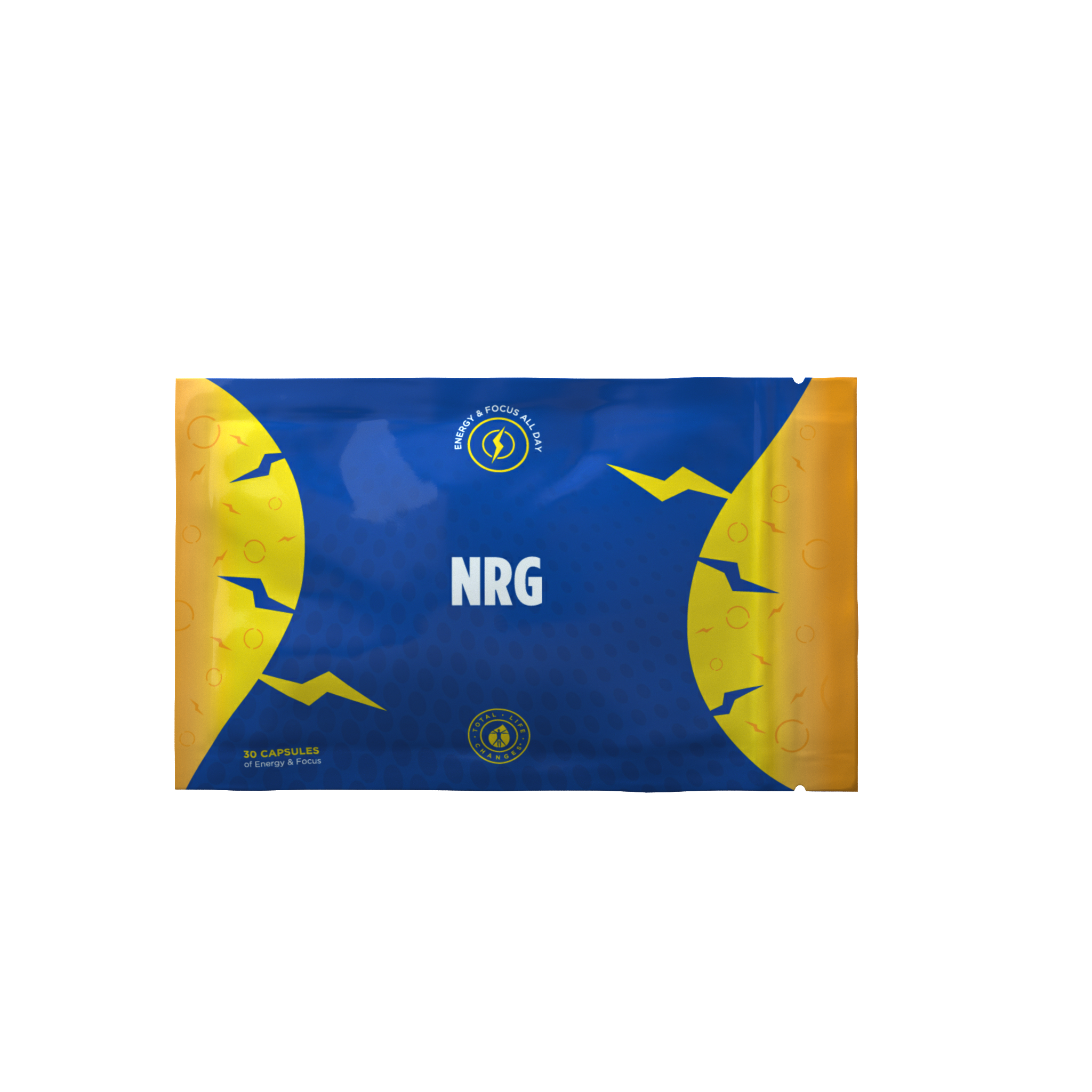 NRG (natural energy booster Mental Clarity ,Focus and burn calories