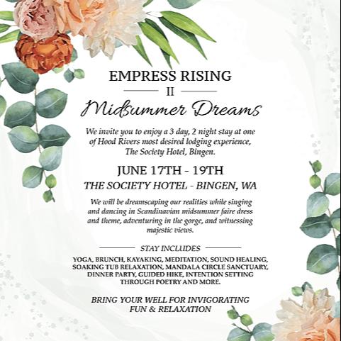 Empress Rising Midsummer Solstice