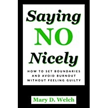 "Book for Adults ""Saying No Nicely"""