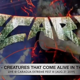 SCARS (LIVE 2019) CREATURES THAT COME ALIVE IN THE DARK Link Thumbnail | Linktree