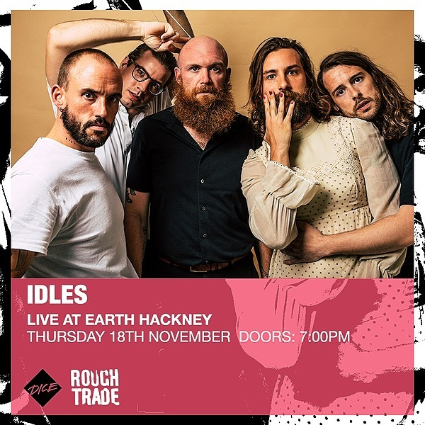 @idlesband ROUGH TRADE CRAWLER  RELEASE SHOW Link Thumbnail | Linktree