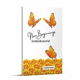 New Beginnings Gratitude Journal (White)