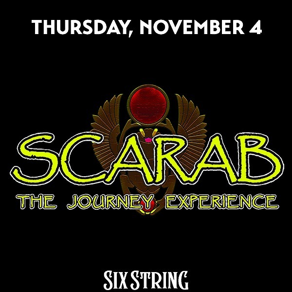 @rockonconcerts Thu 11/4 - SCARAB - The Ultimate Journey Experience @ Six String Grill & Stage, Foxborough MA (Rescheduled - All Tix Honored) Link Thumbnail | Linktree