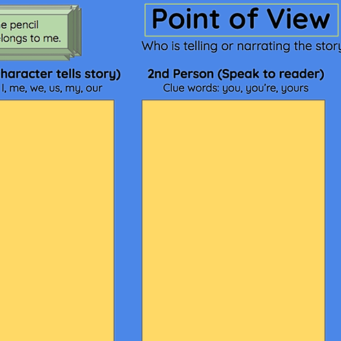 Miss Hecht Teaches 3rd Grade Point of View  Link Thumbnail | Linktree