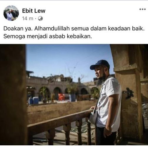 @sinar.harian Alhamdulillah semua dalam keadaan baik: Ebit Lew Link Thumbnail | Linktree