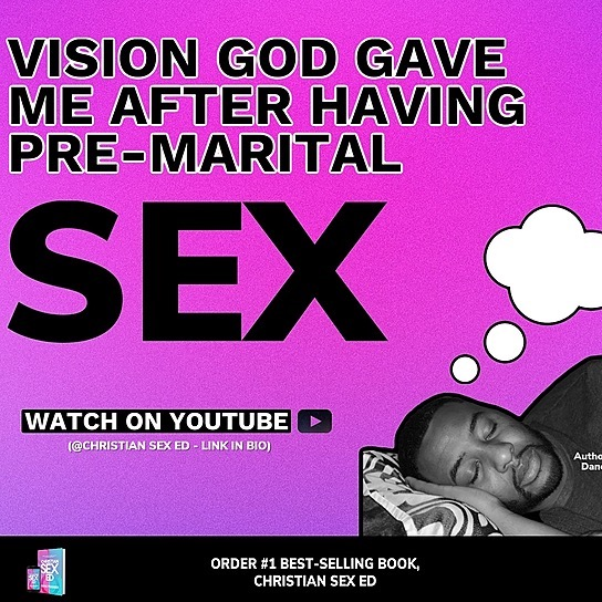 Order Christian Sex Ed ⬇ Vision God Gave Me After Pre-Marital Sex Link Thumbnail   Linktree