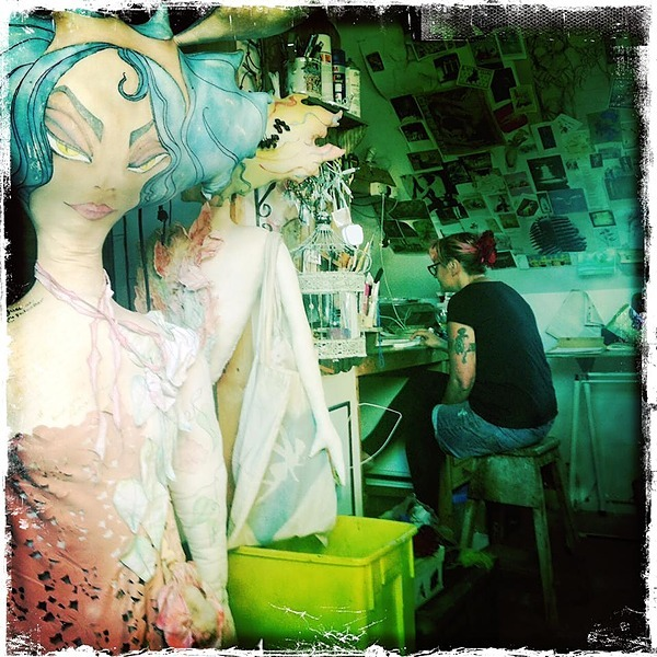 Instagram: works in progress and the life of the Big dolls