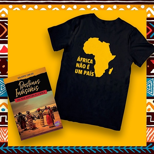 @Saiporai Camiseta África não é um país + Livro Destinos Invisíveis Link Thumbnail   Linktree
