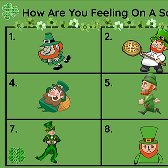 Miss Hecht Teaches 3rd Grade How are you feeling? Leprechaun  Link Thumbnail | Linktree