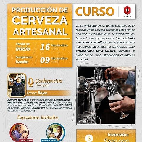 Curso Cerveza Artesanal - ACIQ (aciqvalle) Profile Image   Linktree