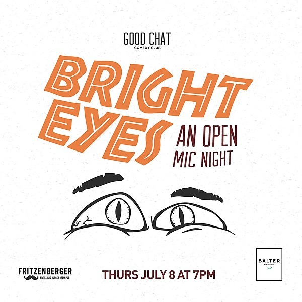 @goodchatcomedy Get tickets to Bright Eyes | An Open Mic Night! [Aug 12] Link Thumbnail | Linktree