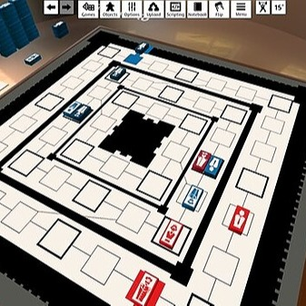 Plaza Fuerte (ES) board game on Tabletop simulator