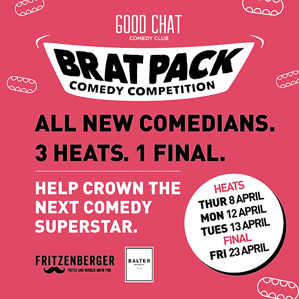 Get tickets to Brat Pack Heat 2! [April 12th]