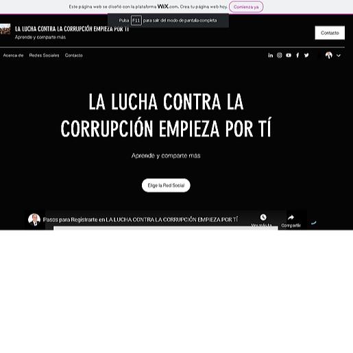 Proyecto Anticorrupción