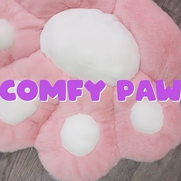 Kitty Cafe Comfy Paw Pillow  Link Thumbnail   Linktree