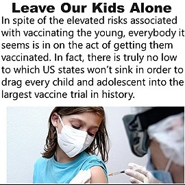 @VaccineChoiceCA Leave Our Kids Alone Link Thumbnail | Linktree