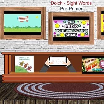 @RebeccaAllgeier Dolch - pre-primer and primer sight words - sample Link Thumbnail | Linktree
