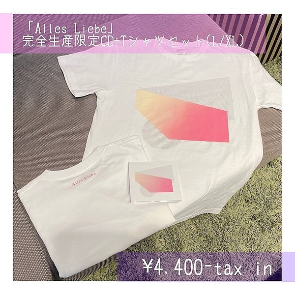 """@yourness """"Alles Liebe""""[ Full production limited CD + T-shirt set ] *Online store and live venue only Link Thumbnail 