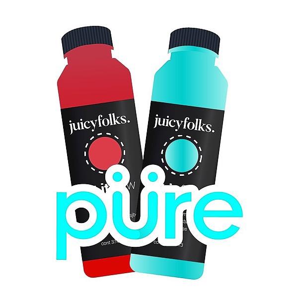 ¡DETOX yourself, haz un día de jugos! - pürepack con Juicy Folks