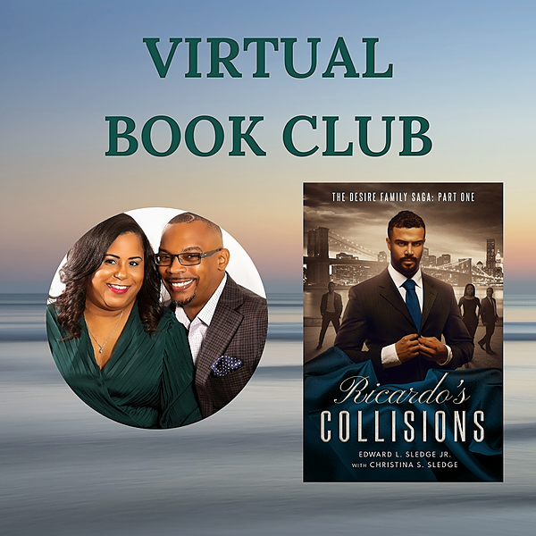 Sledge House Media Sign Up for Ricardo's Collisions Virtual Book Club Link Thumbnail | Linktree