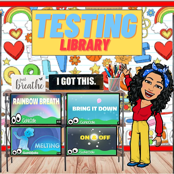 Miss Hecht Teaches 3rd Grade Testing Library Link Thumbnail | Linktree
