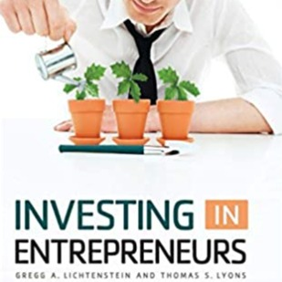 Book: Investing in Entrepreneurs by Gregg A. Lichtenstein and Thomas S. Lyons