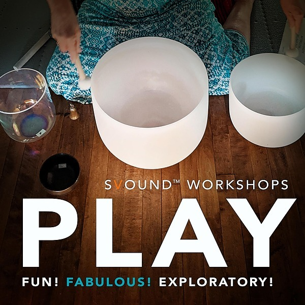 @svound Sunday, Oct 10: PLAY! 3 Hr. Singing Bowl Workshop! $85 Pay by Venmo, PayPal or CashApp by scrolling down further on this menu Link Thumbnail   Linktree