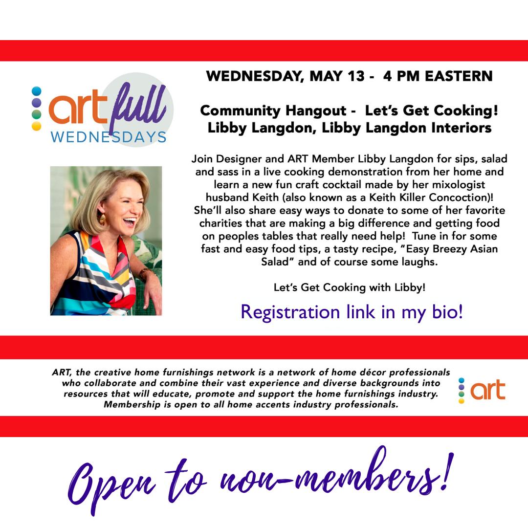 Register: ARTS Let's Get Cooking live cooking demo